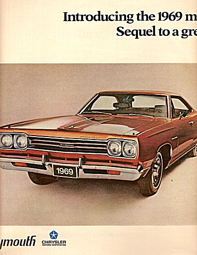 Plymouth automobiles ads 1968 (Image1)