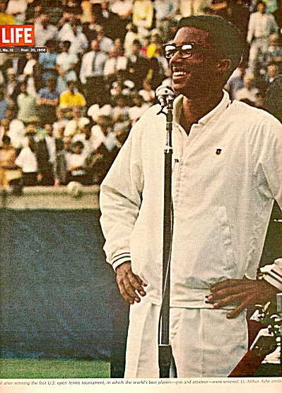 ATHUR ASHE , Tennis star story 1968 (Image1)