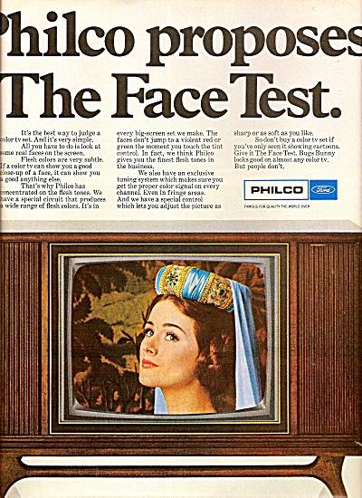 Philco television ad 1968 (Image1)