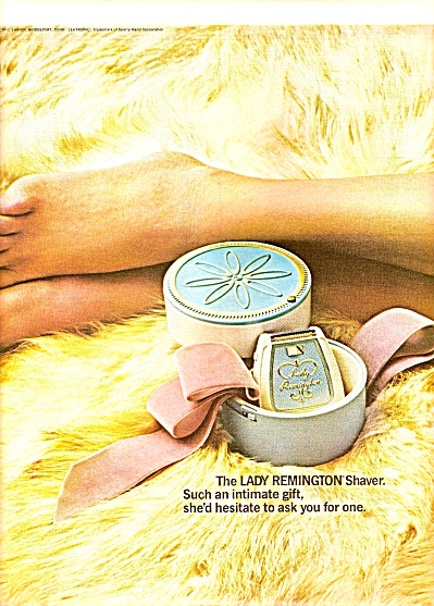Remiongton Shaver Ad 1964