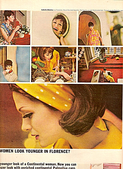 Palmolive soap ad 1964 (Image1)