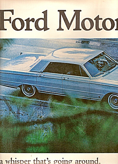 Ford Mercury park lane ad 1964 (Image1)