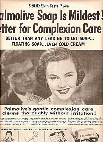 Palmolive soap ad 1955 (Image1)