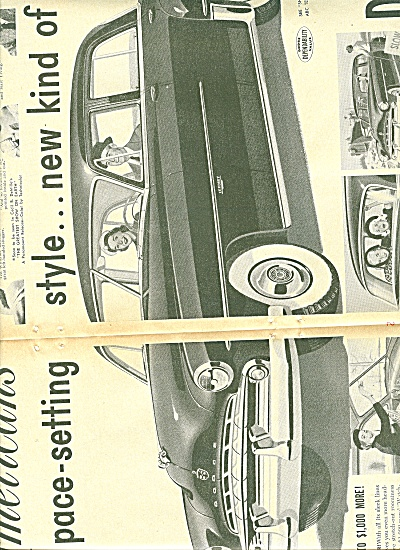 Dodge Automobile for 1951 ad TED WILLIAMS (Image1)