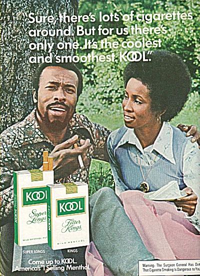 Kool cigarettes ad 1978 (Image1)