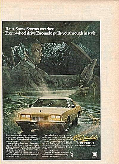 Oldsmobile Toronado ad 1978 (Image1)