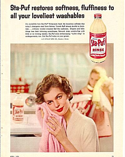 Sta puf rinse ad  ad 1959 (Image1)
