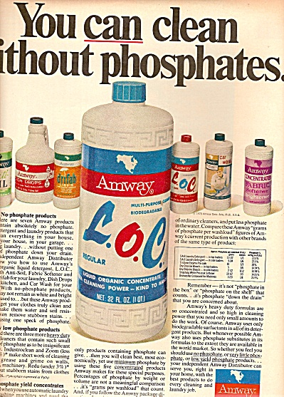 Amway corporation - L. O. C.; ad 1970 (Image1)