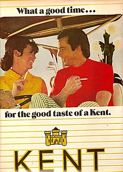 Kent cigarettes ad 1970 (Image1)