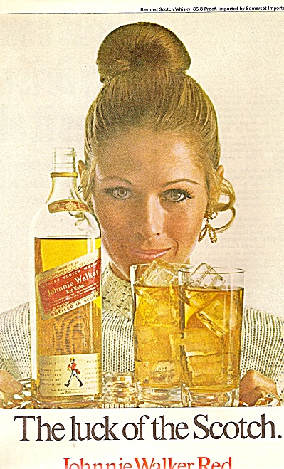 Johnnie Walker Red ad 1970 (Image1)