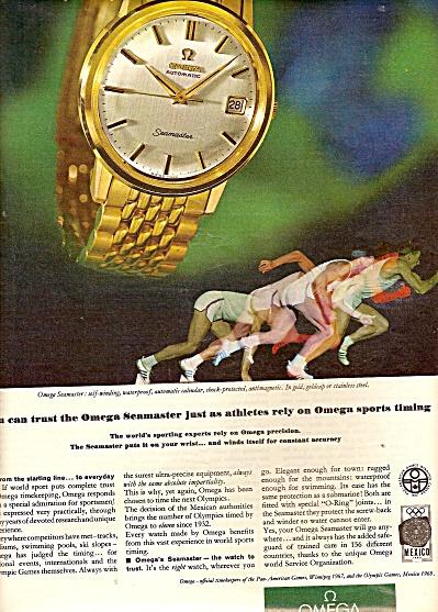 Omega watch ad 1967 (Image1)