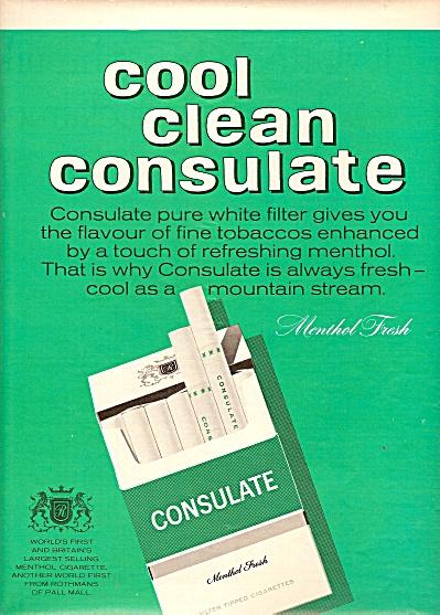 Consulate cigarettes ad 1967 (Image1)