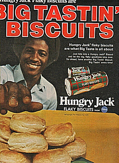 Hungry Jack Flaky Biscuits Ad 1978