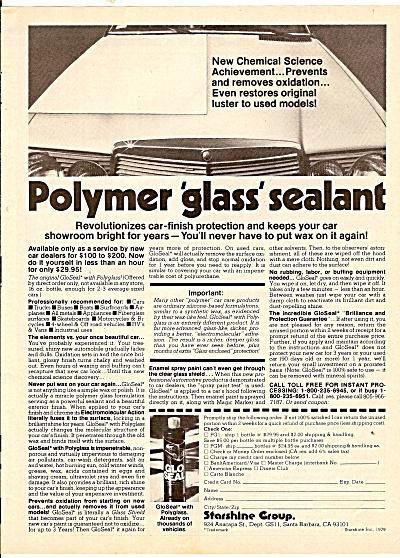 Polymer glass sealant ad 1979 (Image1)