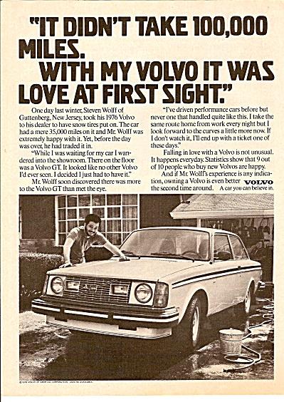 Volvo auto ad 1971 (Image1)