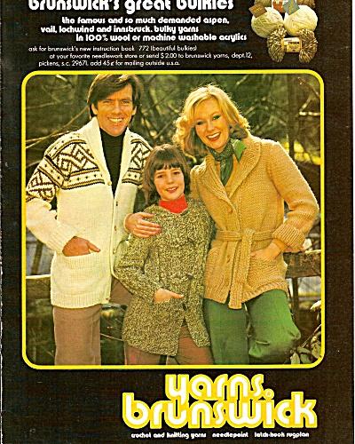 Yarns. brunswick ad 1977 (Image1)