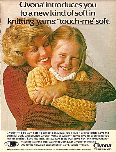Civona yarn ad 1977 (Image1)