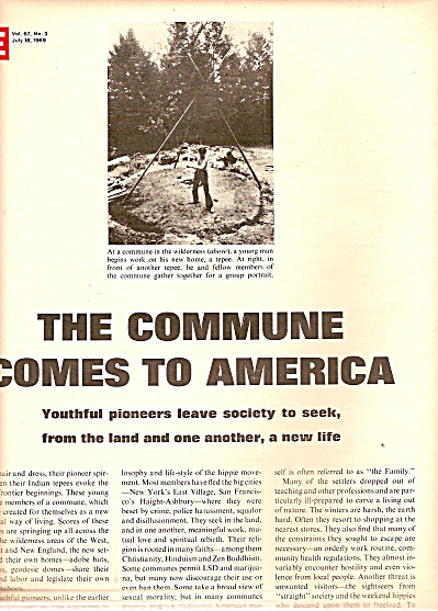 The Youth Communes in the U. S. story 1969 (Image1)