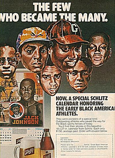 Schlitz Beer ad 1978 (Image1)