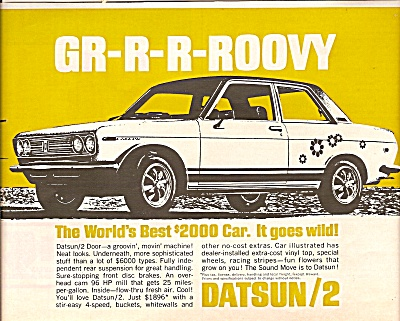 Datsun auto ad 1969 (Image1)