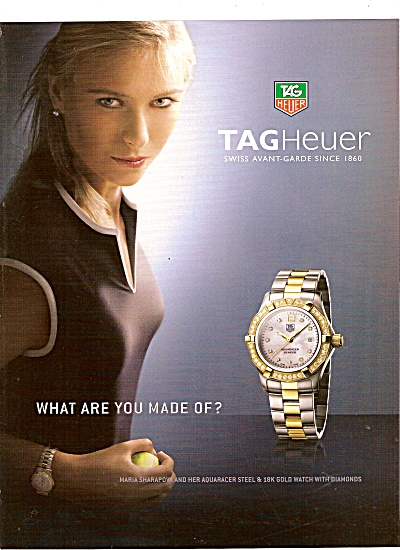 Tag Heuer Watch Ad 2007