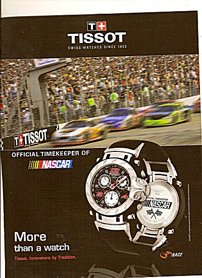 Tissot Watch Ad 2007