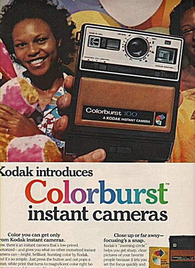 Kodak colorburst instant cameras ad 1978 (Image1)