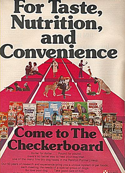 The Checkerboard ad 1978 (Image1)