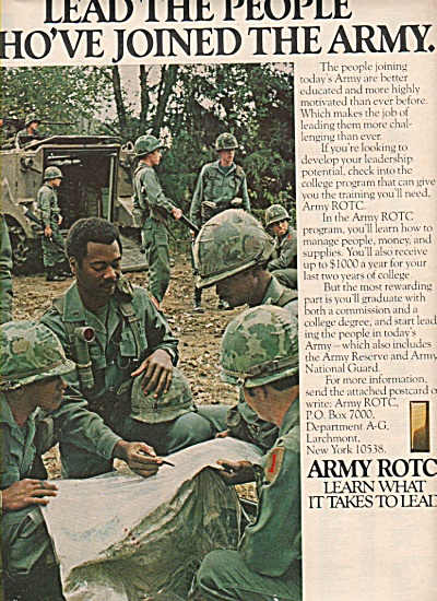 Army ROTC ad 1978 (Image1)