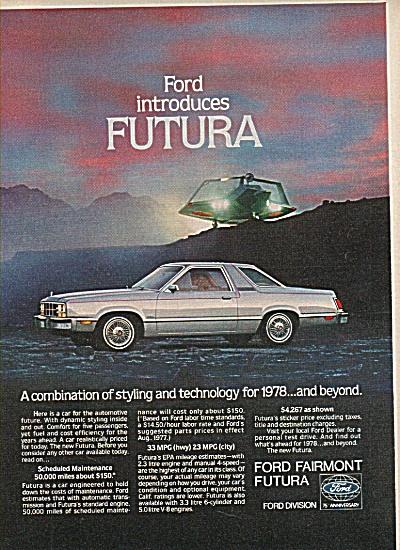 Ford Fairmont Futura ad 1978 (Image1)
