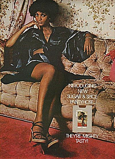 Suygar & spice pantyhose ad  1978 (Image1)