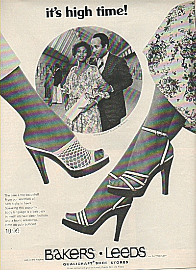 Bakers - Leeds shoe stores ad 1978 (Image1)