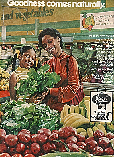 Jewel Food Stores Ad 1978 Black Americana
