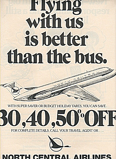 North Central Airlines ad 1978 (Image1)