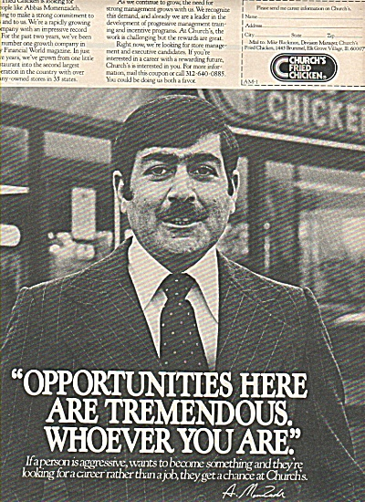 Church's fried chicken ad 1978 (Image1)
