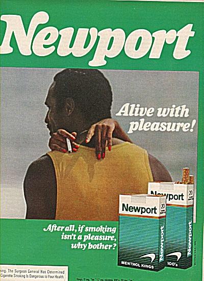 Newport cigarettes ad 1978 (Image1)