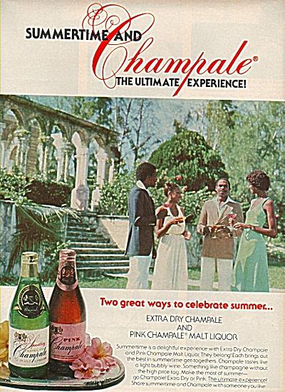 Champale extrea dry and malt liquor ad 1978 (Image1)