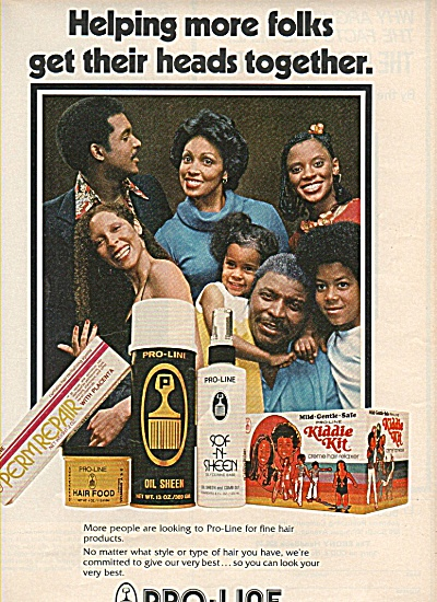 Pro-line hair prolducts ad 1978 (Image1)