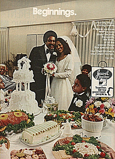 Jewel food stores ad 1978 BLACK WEDDING (Image1)