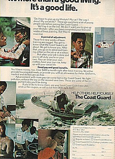 U. S. Coast Guard ad 1978 (Image1)