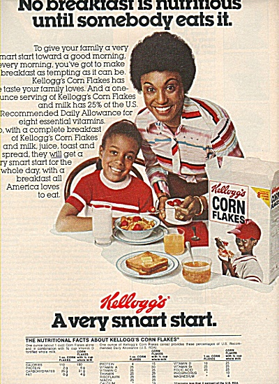 `Kellogg's Corn flakes ad 1978 (Image1)