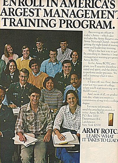 ARMY ROTC  ad - 1978 (Image1)