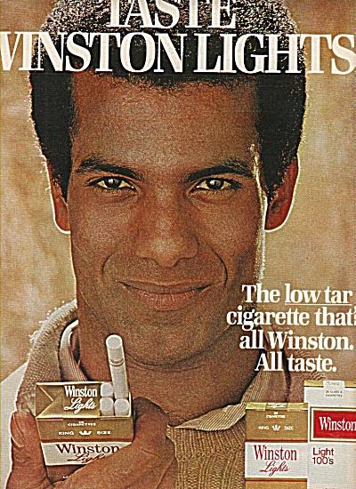 Winston cigarettes ad 1978 (Image1)