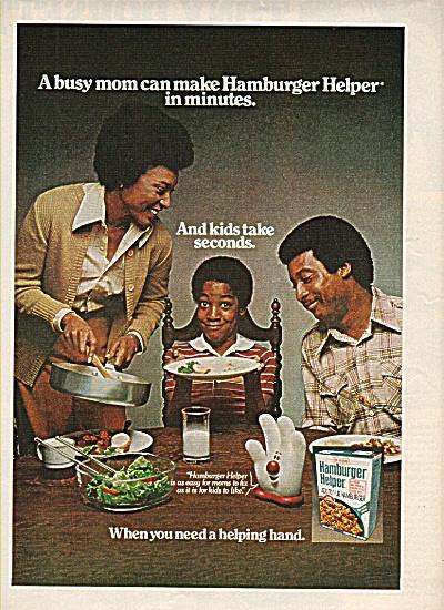 Hamburger Helper ad  1978 (Image1)