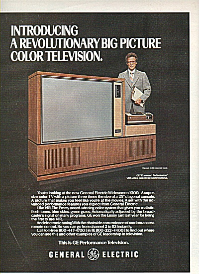General electric television ad 1978 (Image1)