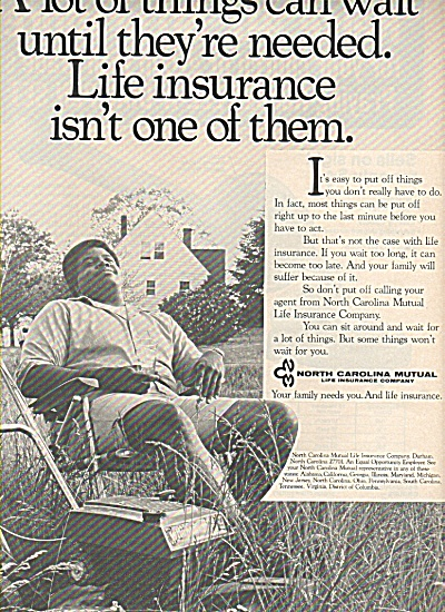 North Carolina Mutual Insurance Co., ad 1978 (Image1)