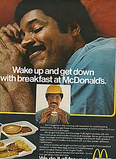 Mcdonald's Golden Arches Ad 1978 Get Down