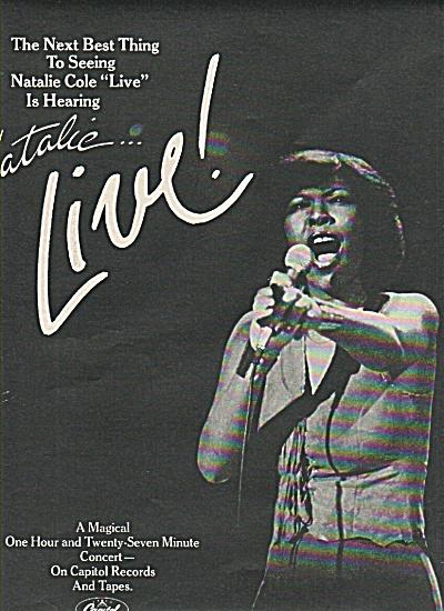 NATALIE COLE  record ad1978 (Image1)