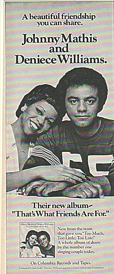 Johnny Mathis & Deniece Williams Records