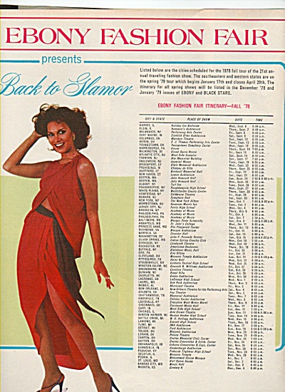 Ebony Fashion fair  ad 1978 (Image1)